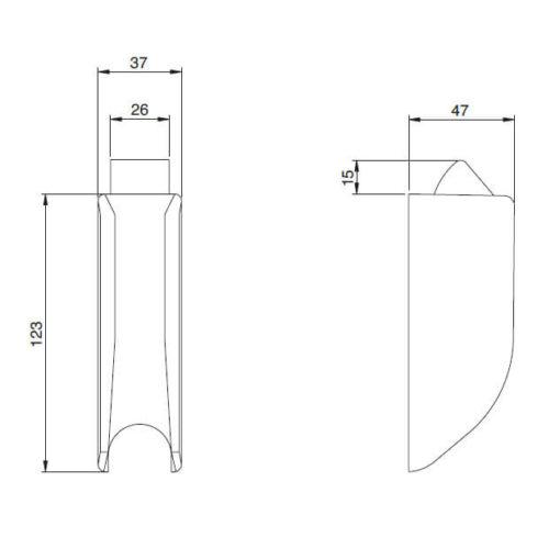 Iseo 9410201524 - Technische tekening
