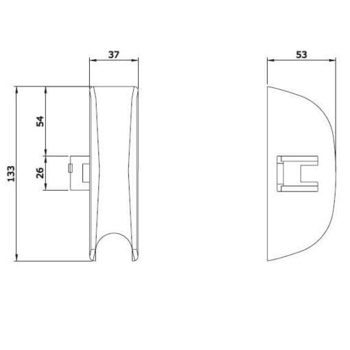 Iseo 9410203504 - Technische tekening