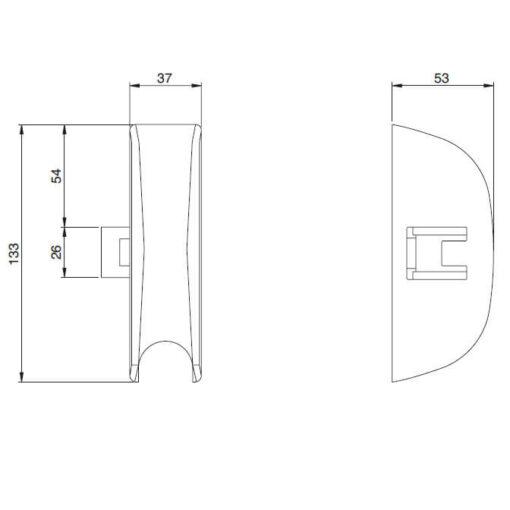 Iseo 9410203524 - Technische tekening