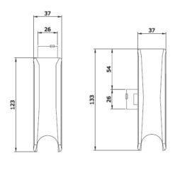 Iseo 9410204504 - Technische tekening