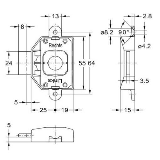 Junie 1781 30002 - Technische tekening