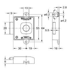Junie 1881 30002 - Technische tekening