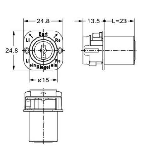 Junie 7552 00102 - Technische tekening