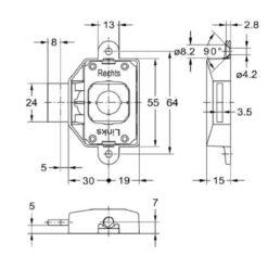 Junie 7581-30002 - Technische tekening