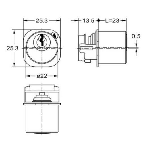 Junie 7583 00002 - Technische tekening