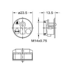 Junie 7605 00031 - Technische tekening