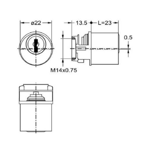 Junie 7625.0002 - Technische tekening