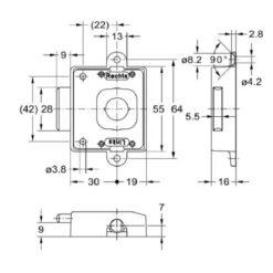 Junie 7781 30002 - Technische tekening