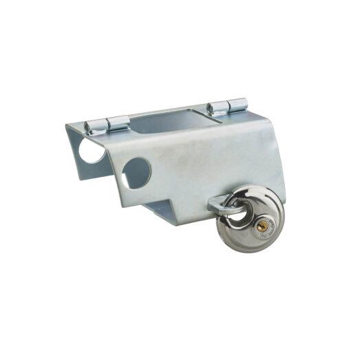 Antidiefstal voor remorque aanhangwagen voor hangslot - In gebruik