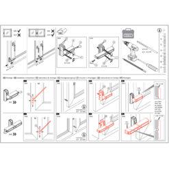 Abus 2410 en 2420 - Nieuwe versie - Montage instructies