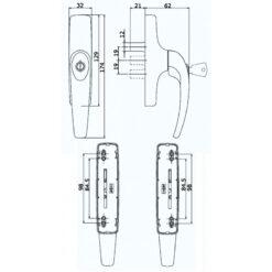 Savio 873.765 C - Technische tekening