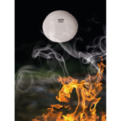 Abus GWRM30500 rookmelder - In gebruik 2