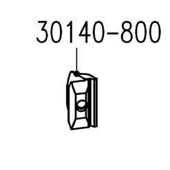 Sobinco 30140-800 sluitstuk voor Chrono raambeslag