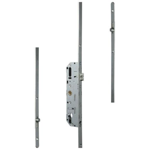 Ferco G-24758-18-L-1 meerpuntsluiting met 2 rolnokken krukbediend - Afgerond