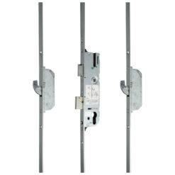 GU SH2 meerpuntsluiting met haak krukbediend - Gesloten toestand