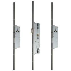 Roto meerpuntsluiting met 2 pinnen - Open toestand