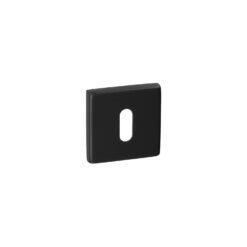 HDD Pro 1.133.090 vierkante zwarte rozet met sleutelopening