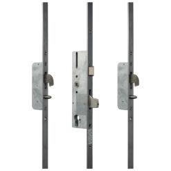Sobinco 8431 meerpuntssluiting met haak-pin - Vlakke voorplaat - Gesloten toestand