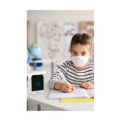 Abus CO2 melder - in gebruik school